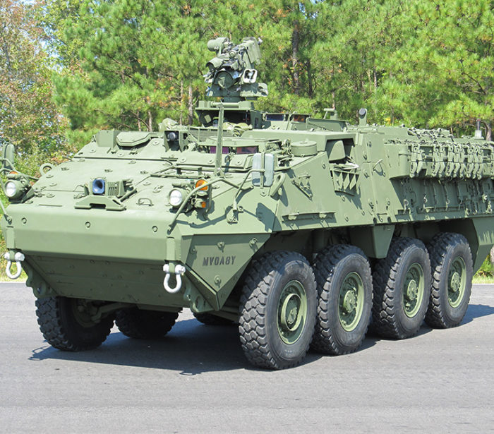 M1126 Stryker with Double-V Hull